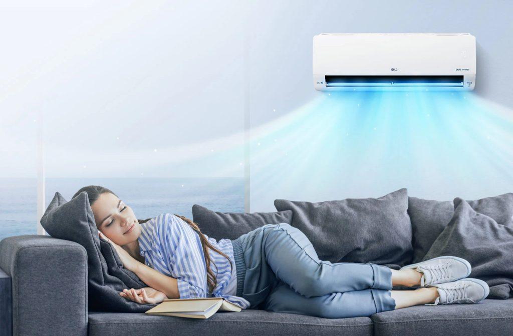 AC Dual Cool LG Inverter Hemat Listrik dan Lebih Cepat Dingin