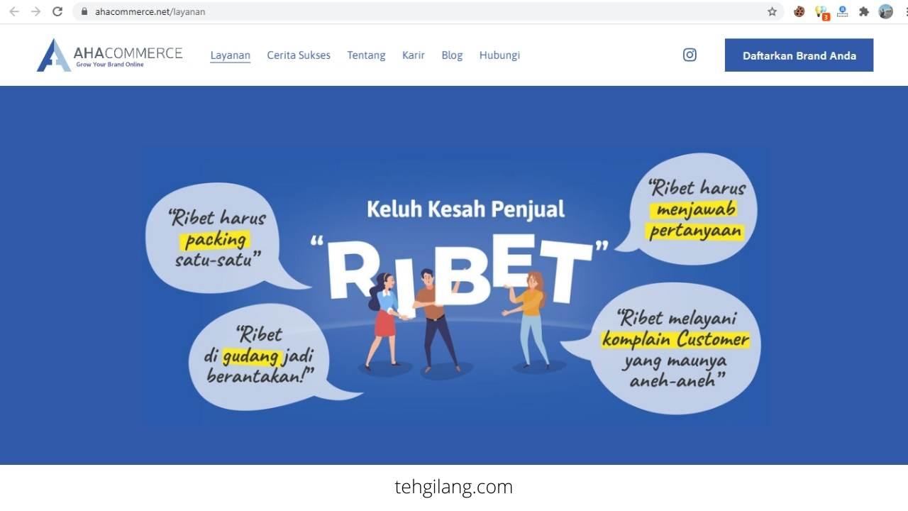 AHA Commerce Solusi Ecommerce Enabler Indonesia Terpercaya