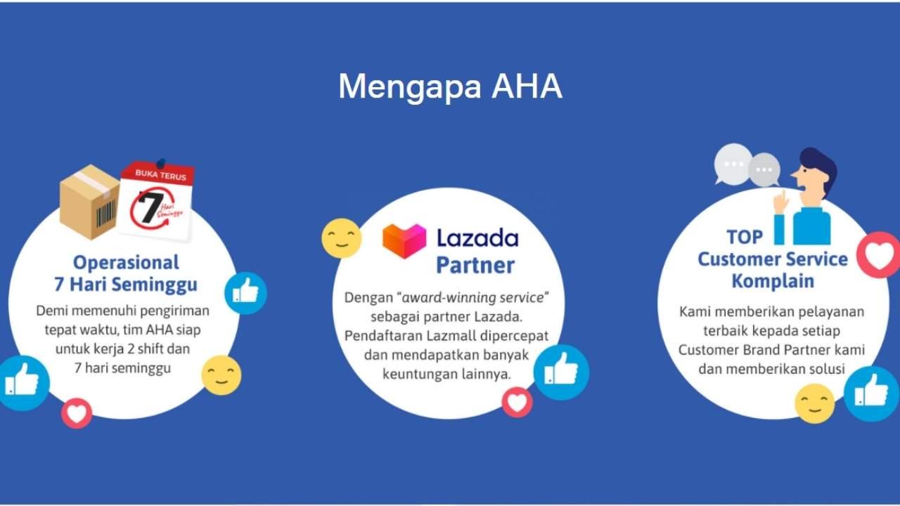 Mengapa harus memilih AHA Commerce sebagai partner berbisnis kamu